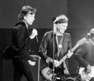 Mick Jagger e Keith Richards - Foto di Andrea Sartorati da Flickr