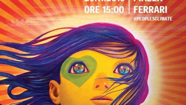 Marcia per il clima a Rimini