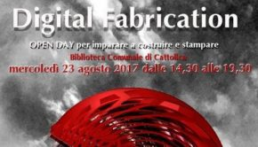 Open Day 3d Digital Fabrication